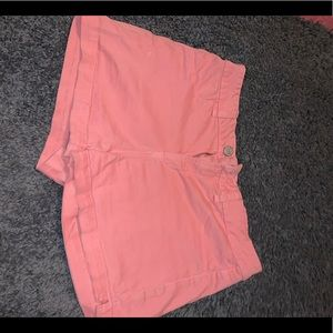 Pink SO high waisted shorts